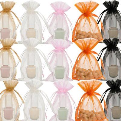 Mini organza bags 7x12cm Choose Your Color