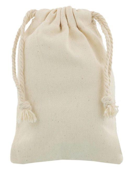 cotton drawstring bag 10x15cm