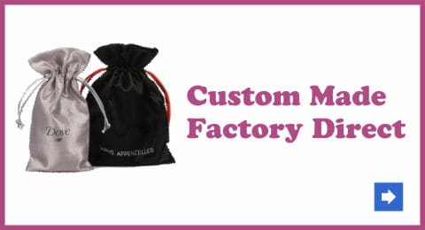 custom made drawstring bags