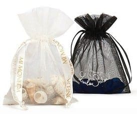 custom made organza bags