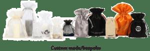 custom made organza bags