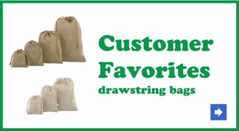 customer favorites drawstring bags 2.0