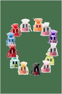 mini organza bags different