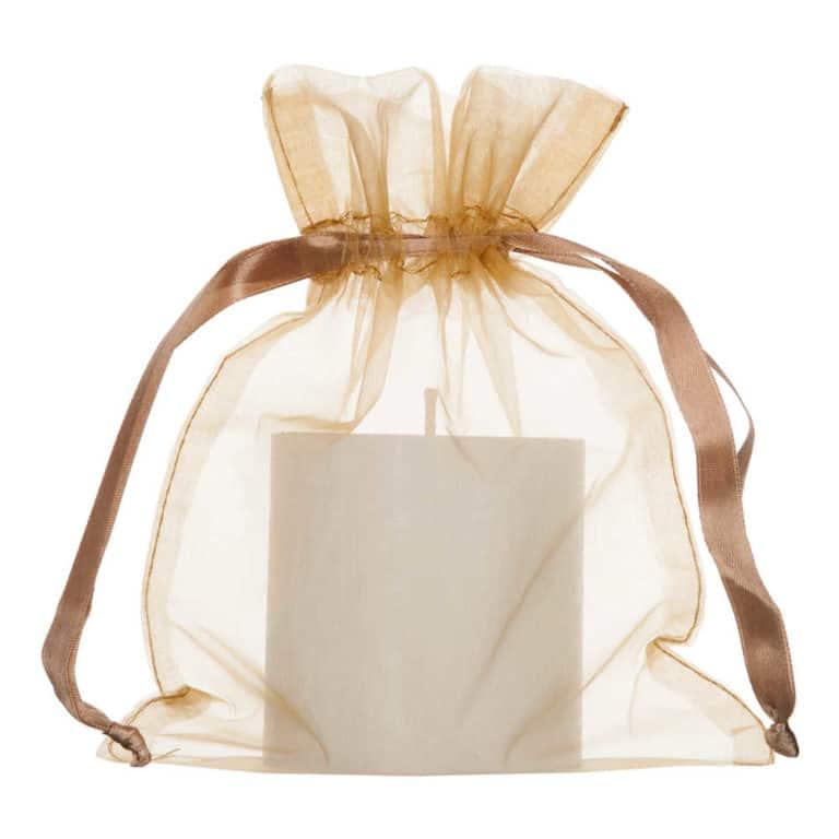 medium organza bag 15x20cm gold 2.0