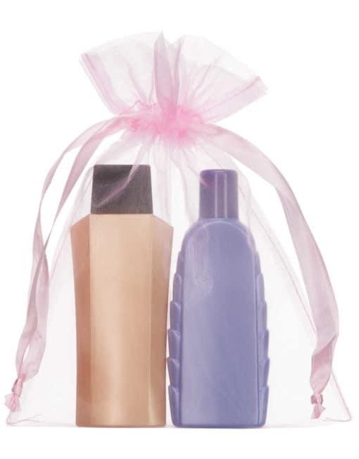 medium organza bag 15x20cm light pink 2.0