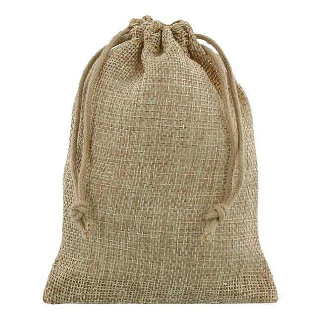 mini jute bag 10x15cm