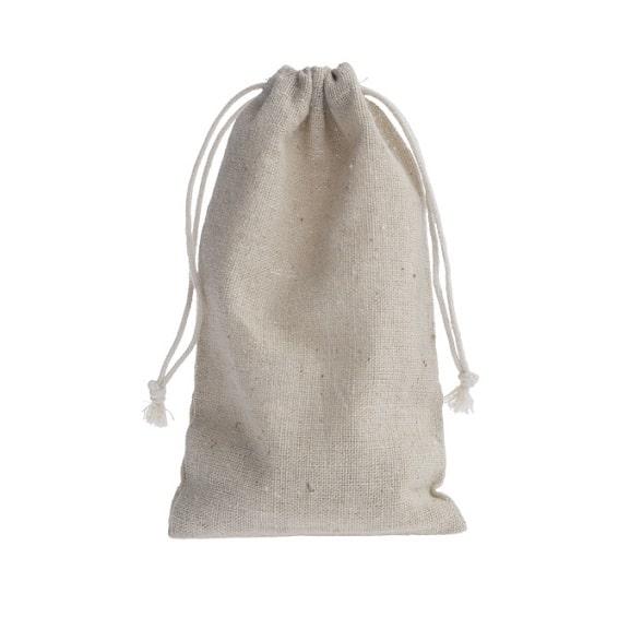 ᐅ • Linen Mini drawstring bags - Shingyo - Linen favor bags | Shingyo