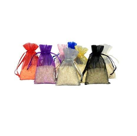 mini organza bags