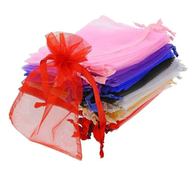 organza bag15x20cm-mixed-colours