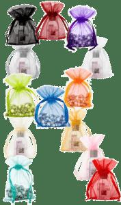 organza bags extra small 10