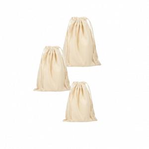 small cotton drawstring bags