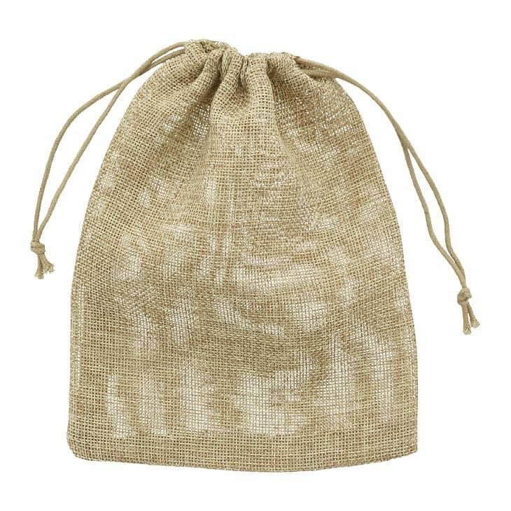 Mini Jute Bags (PE) Choose Your Size