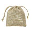 small hessian sack 7,5x10cm