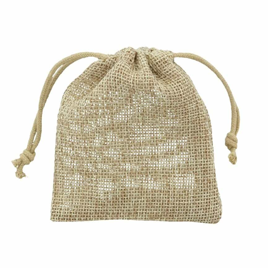 small hessian sack 7,5x10cm