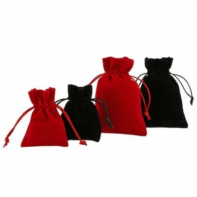 velvet pouches jewellery