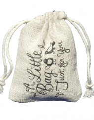 custom printed mini linen drawstring bags3