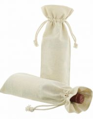 50 pieces Linen Wine Bags 15x38cm