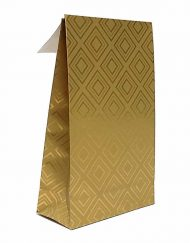 50 pieces paper gold giftbags