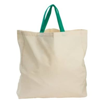 50 pieces Carrying Bag Organic Cotton 40x40x10cm