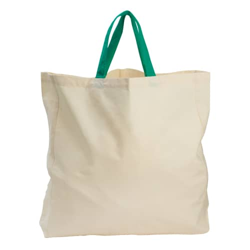 50 pieces Carrying Bag Organic Cotton 40x40x10cm