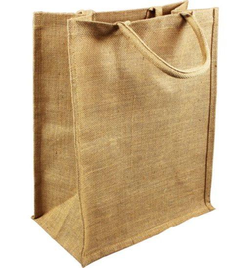 Laminated Jute Bags 34x20x43cm