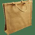 Laminated Jute Bags 43x20x34cm
