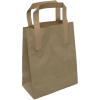 paper carry bags brown17.5x9,5x21cm,