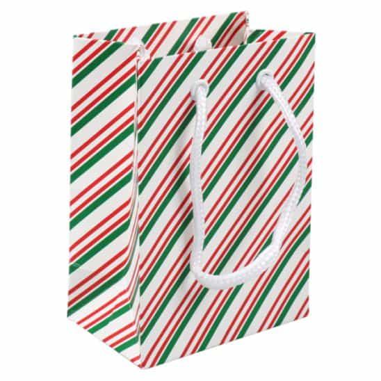 paper carrying bag christmas 11x7x15,5cm,