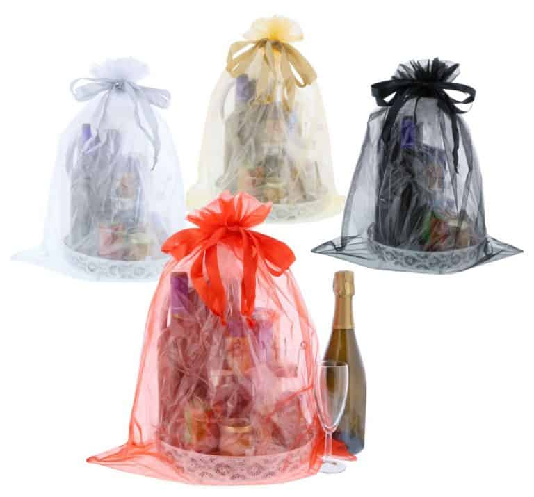 Jumbo Organza Bags 50x65cm in various colours