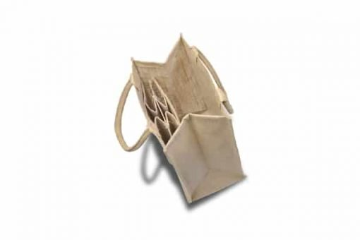 Multifunctional jute bottle bag 3.0
