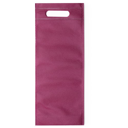 100 pcs Nonwoven Wine Bottle Bag with Handle16x40x16,5cm bordeaux