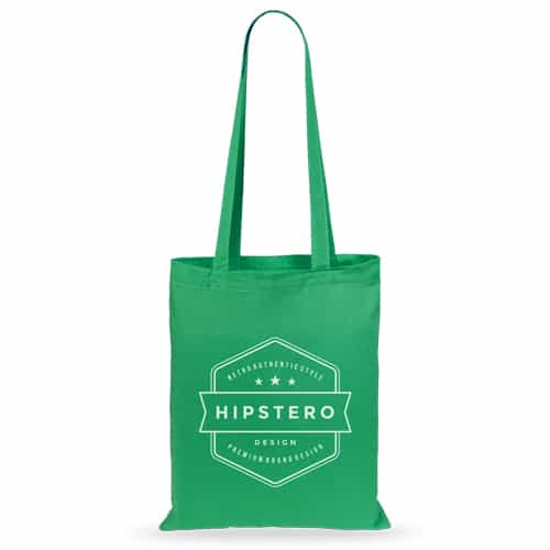 50 pcs cotton bags 36x40cm green
