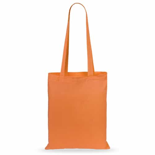 50 pcs cotton bags 36x40cm orange