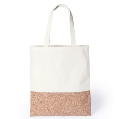 bag cotton cork bottom 35x40cm