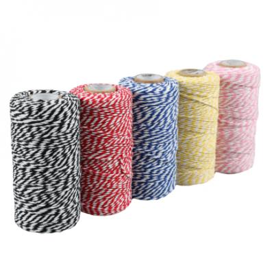 cotton cord various colours