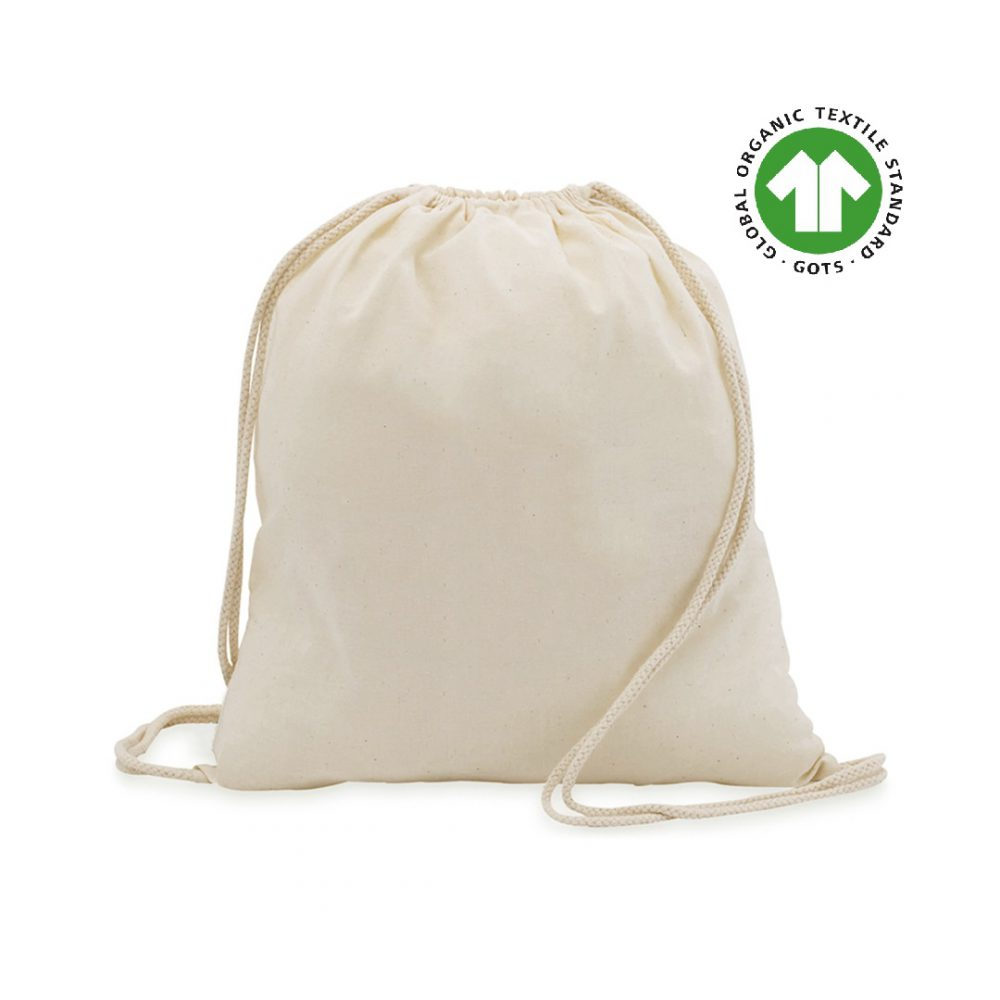 Ecological Cotton Backpacks 140 grams