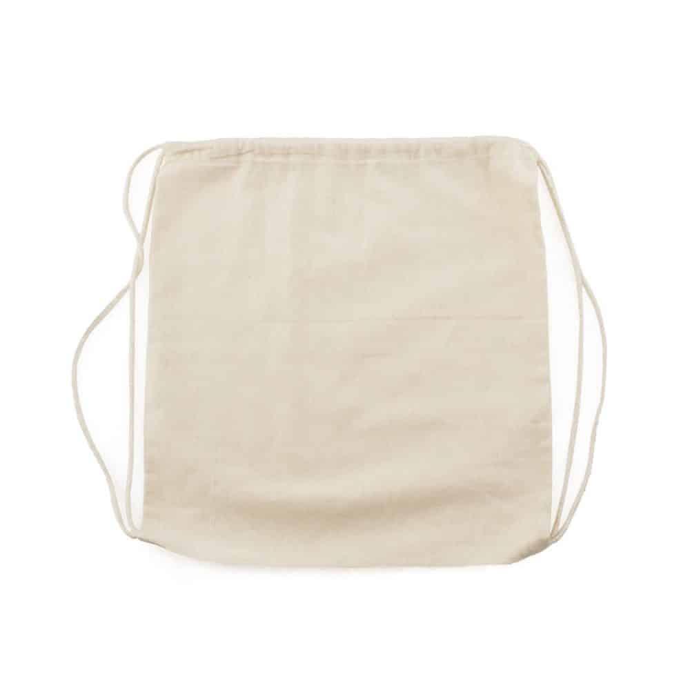 cotton bagpack 37x41cm