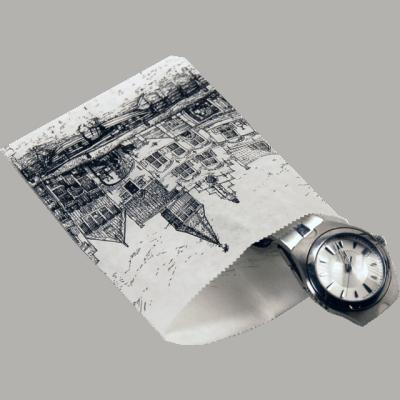 1000 pieces Paper Bags Nostalgic Facades