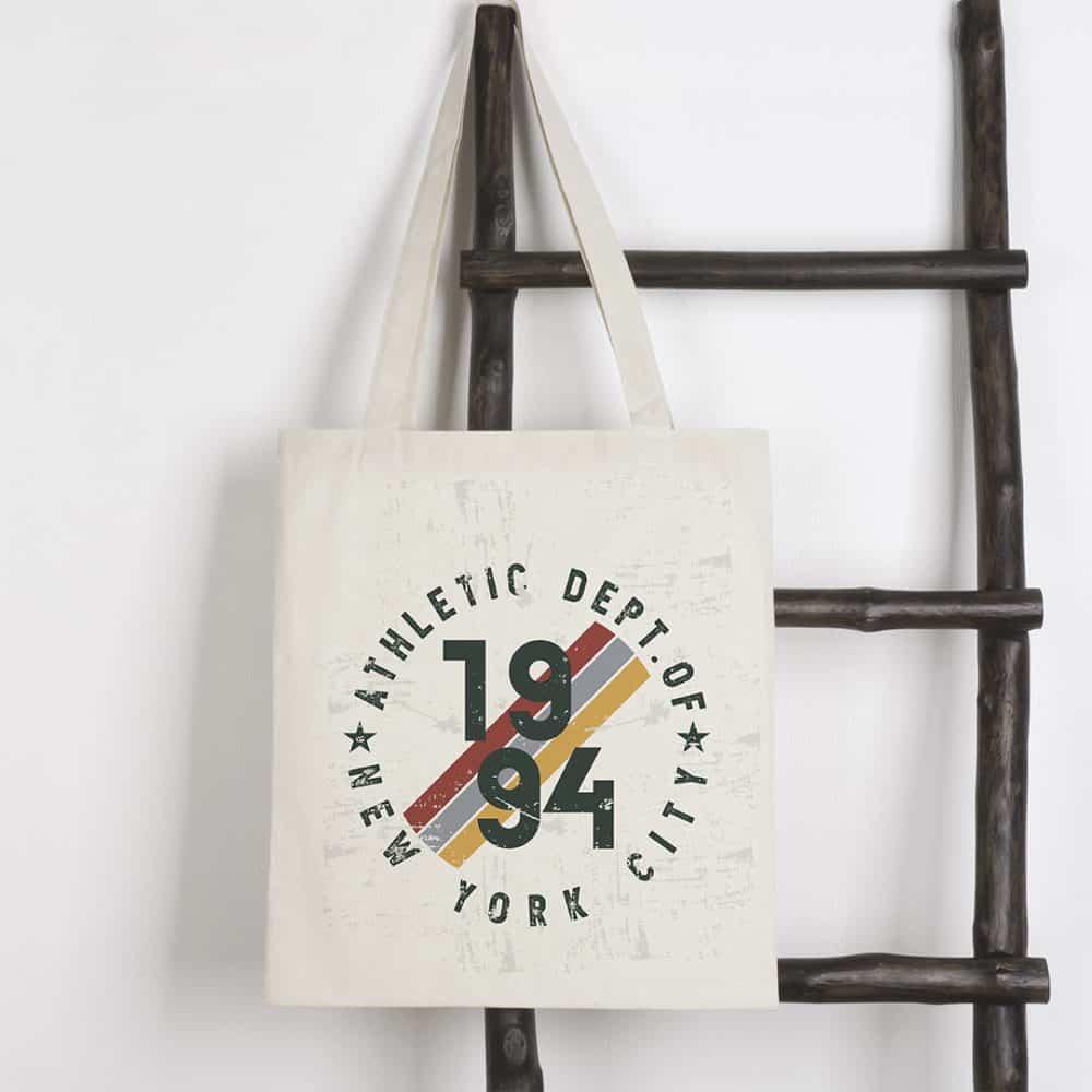 cotton carrier bag 37x41cm promo