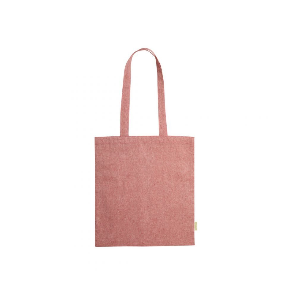 50 pieces 100% Recycled Cotton Shopping Bag in 4 colors