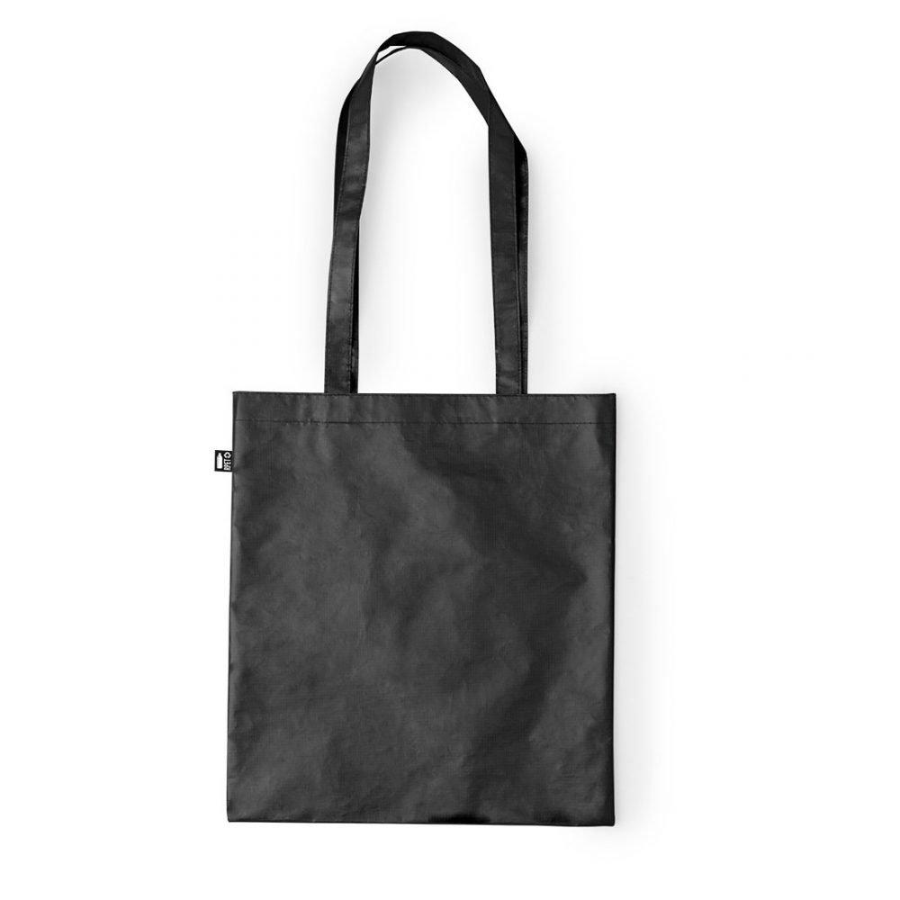 Laminated Shopping Bags 37x41cm black