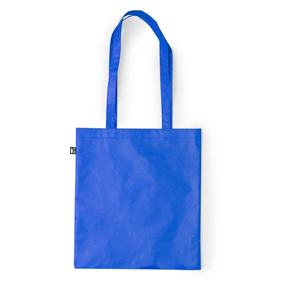 Laminated Shopping Bags 37x41cm blue