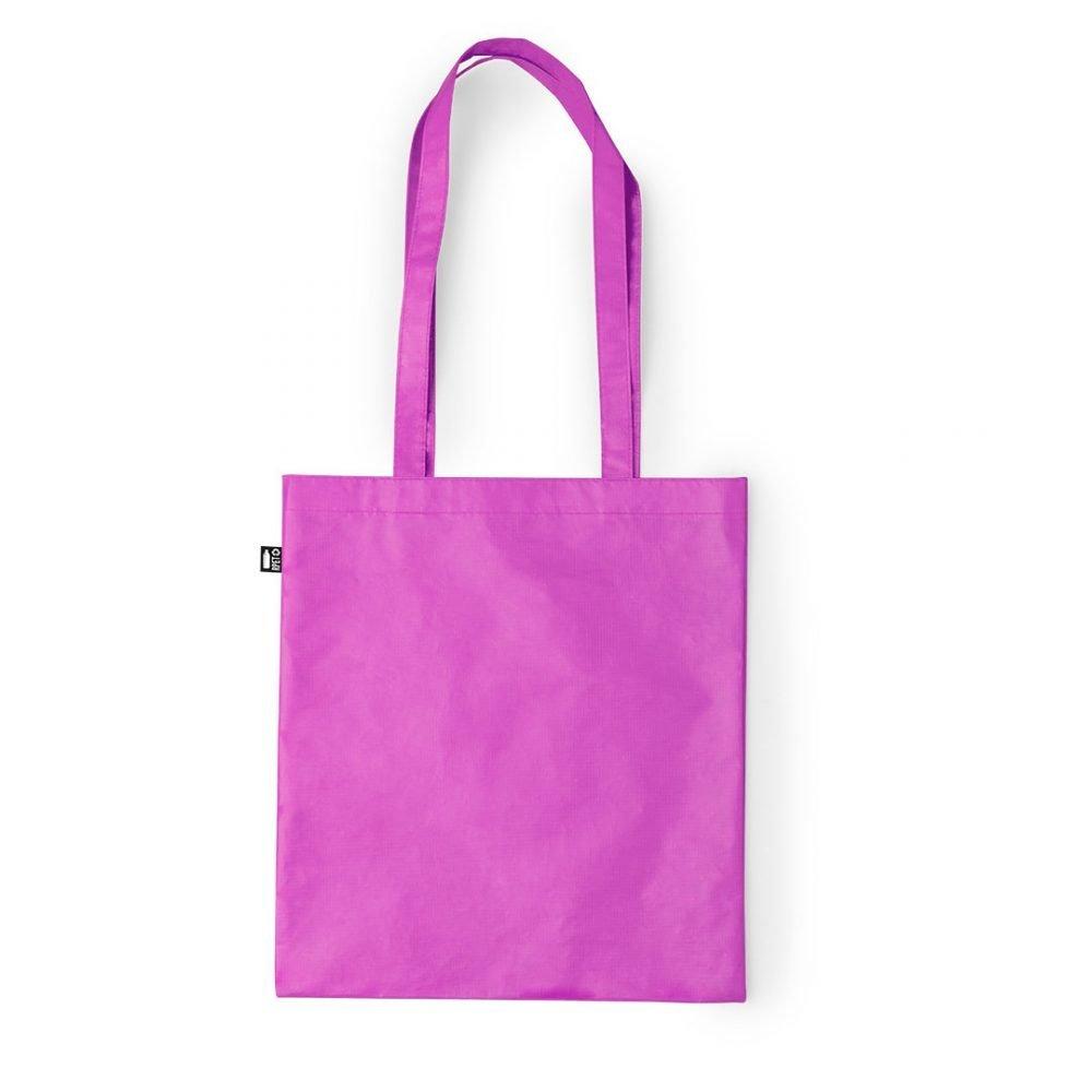 Laminated Shopping Bags 37x41cm fuchsia