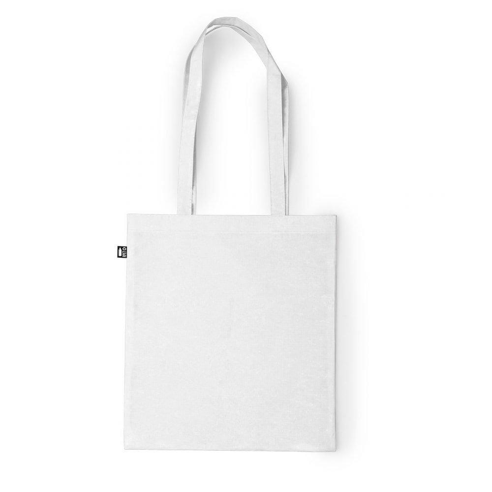 Laminated Shopping Bags 37x41cm white