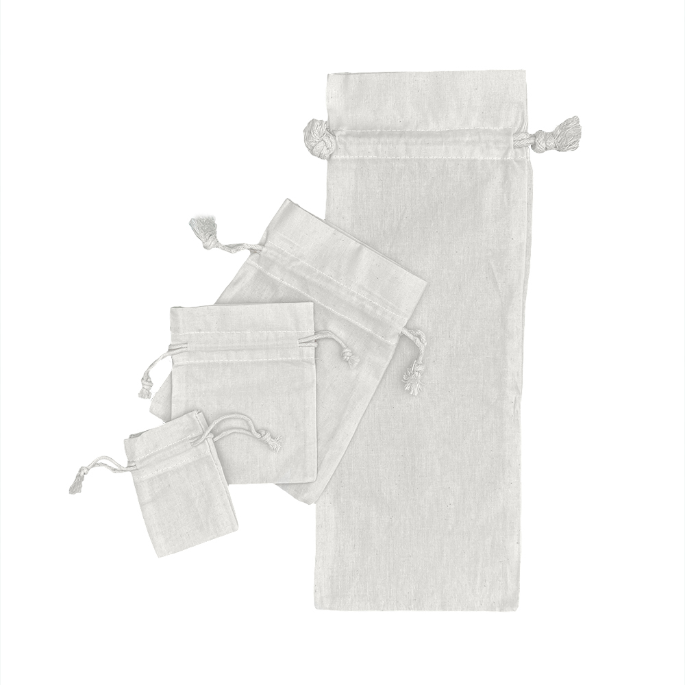 Ecological Cotton drawstring Bags 116 gr (2)