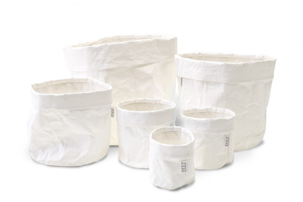 Paper bag White complete set
