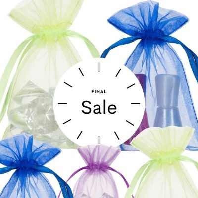 Small Organza Bags 10x15cm Choose Your Color SALE