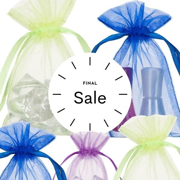 Small Organza Bags 10x15cm Choose Your Color SALE