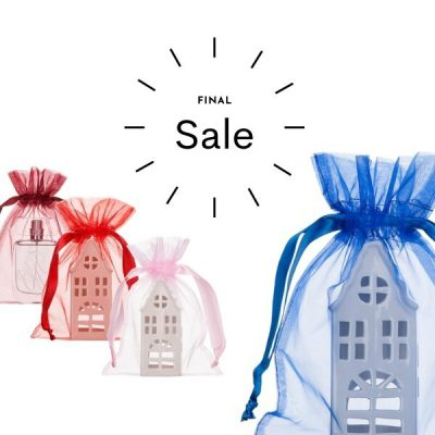 Extra Large Organza Bags 20x28cm Choose Your Color SALE