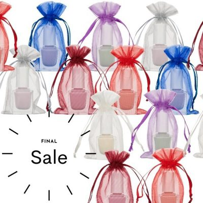 Mini organza bags 7x12cm Choose Your Color SALE
